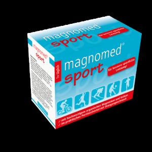 Magnomed sport sachets 24 stück für bessere sportliche leistung