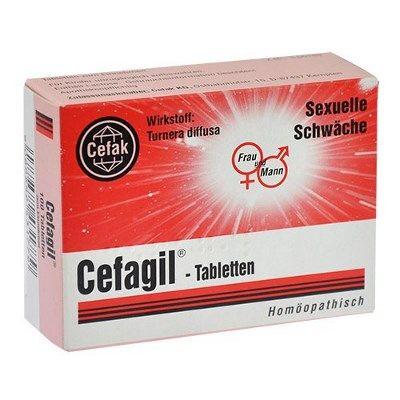 Cefagil Tabletten - Regt sexieller Lust an und fördert stehvermögen