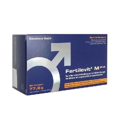 Fertilovit M plus unterstützt die Spermienqualität von Männern mit Kinderwunsch