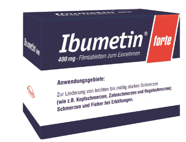Ibumetin hilft gegen Zahnschmerzen und Kopfschmerzen