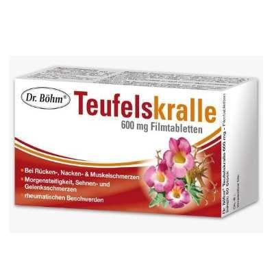 Dr.Böhm Teufelskralle Tabletten bei Rückenschmerzen und Muskelschmerzen