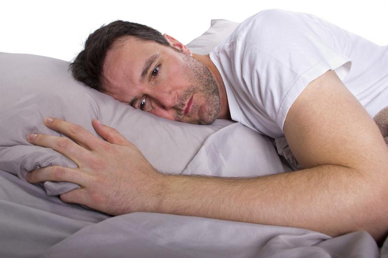 Unruhe und Schlafstörungen bei Männern