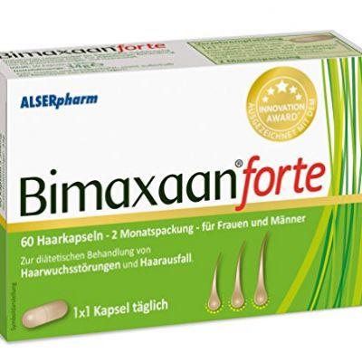 Bimaxaan Forte Haarkapseln - für dünner werdendem Haar