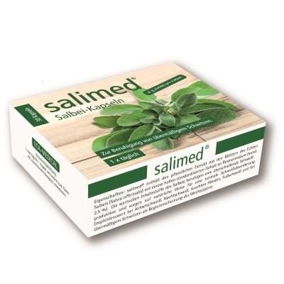 Salimed Salbei-Kapseln gegen schwitzen