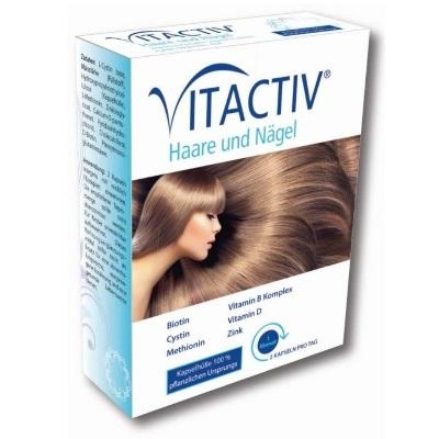 Vitactiv Für Haare Und Nägel Die Männerapotheke